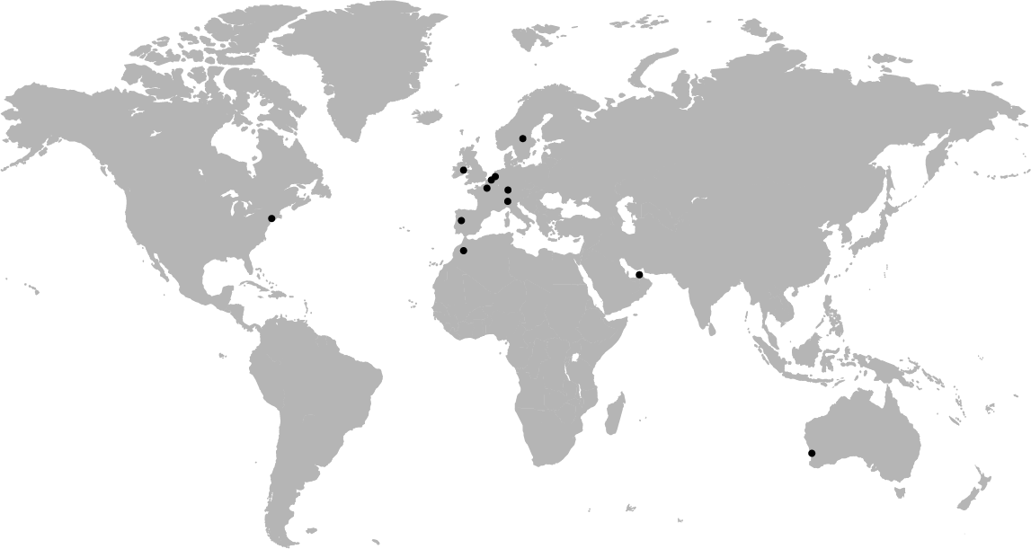 eventcare business world map